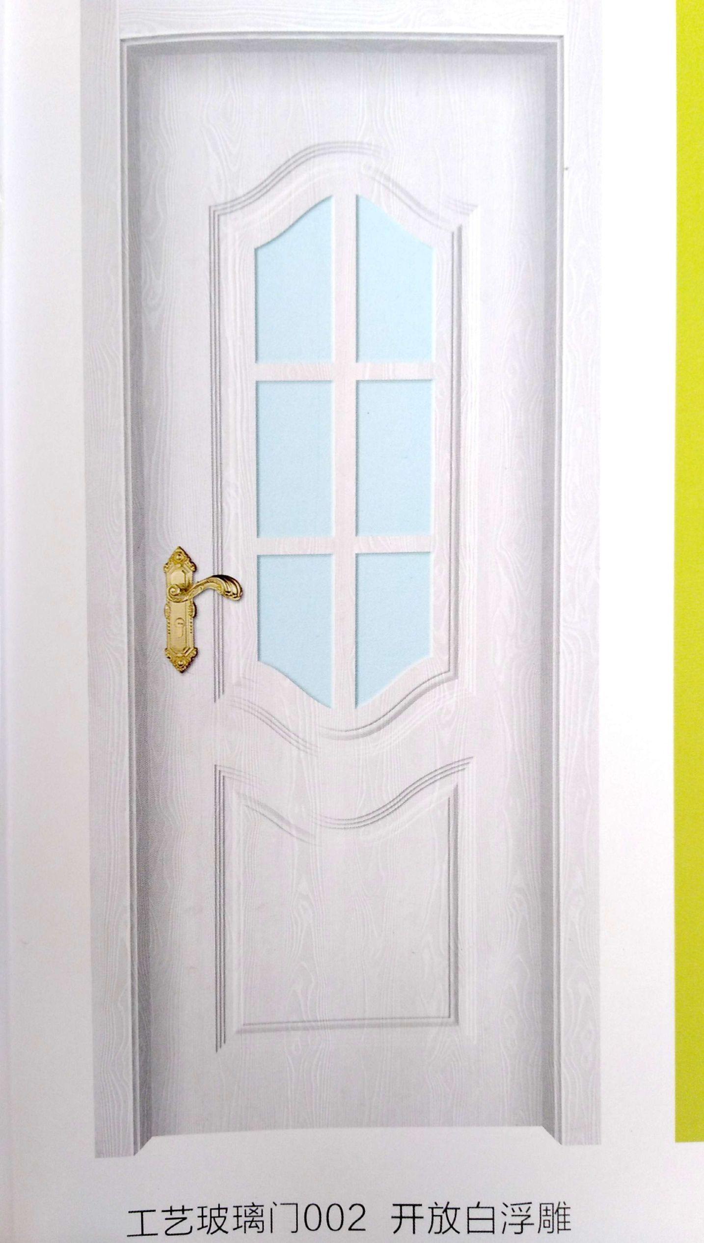 工艺玻璃门002